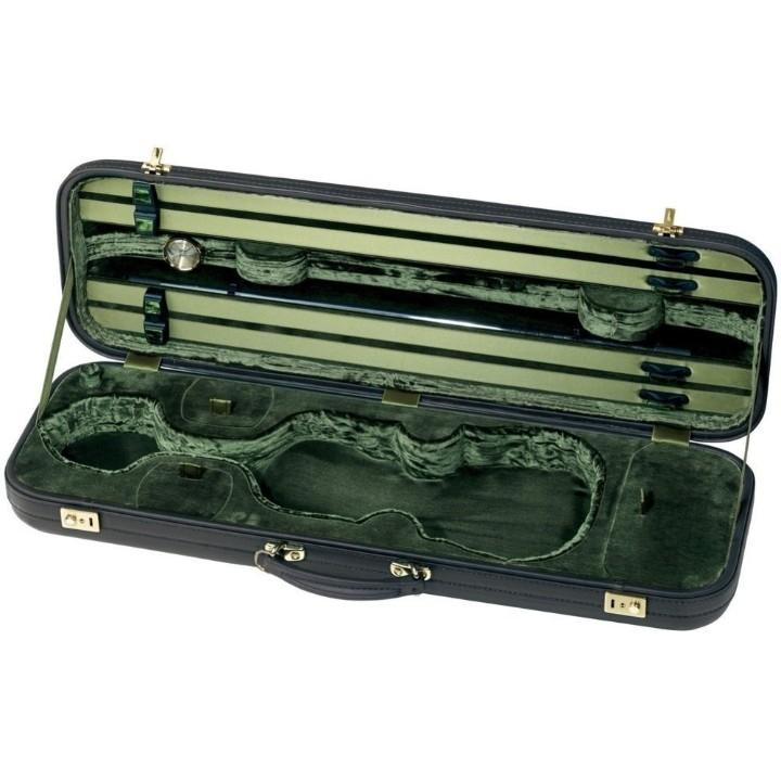 jaeger oblong violin case green