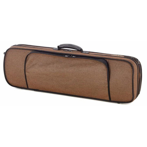 gewa brown oxford violin case