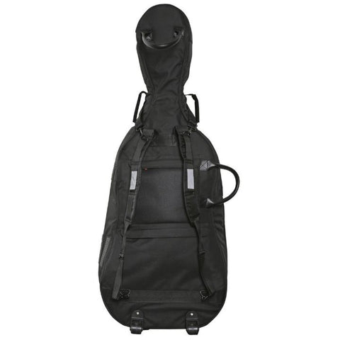 Gewa Prestige Rolly Black Gig Bag With Wheels - Back