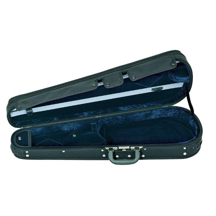 blue arrow adjustable viola case