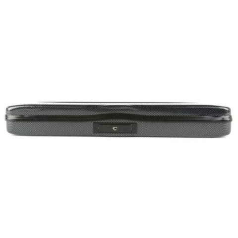 Flute case Black Carbon look