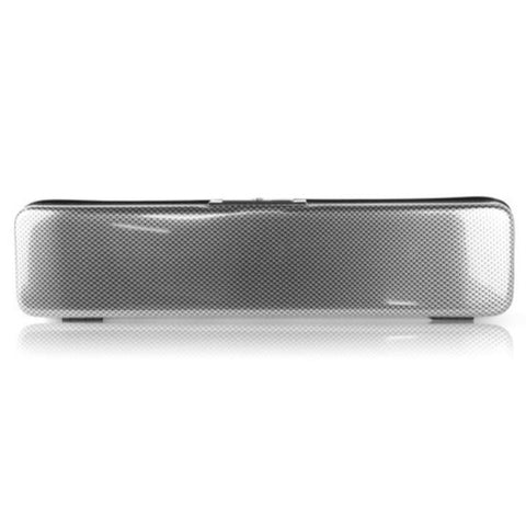 Image of  Flute case Silver Carbon look