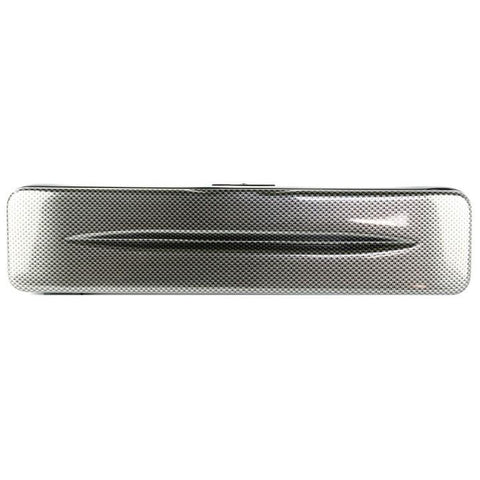 Image of Bam Hightech Flute Case Silver Carbon