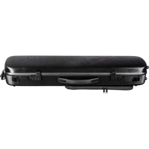 Howard Core CC450 Solid Black Scratch-Resistant Violin Case - Side