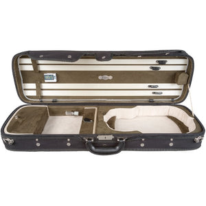 Howard Core Green CC550 Suspension Oblong Violin Case Interior