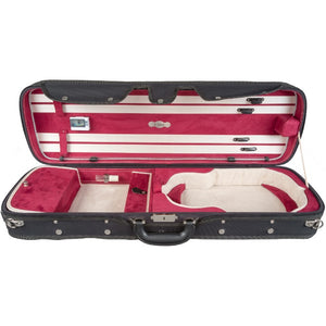 Howard Core Red CC550 Suspension Oblong Violin Case Interior