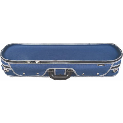 Howard Core Blue CC575 Oblong Violin Case Front