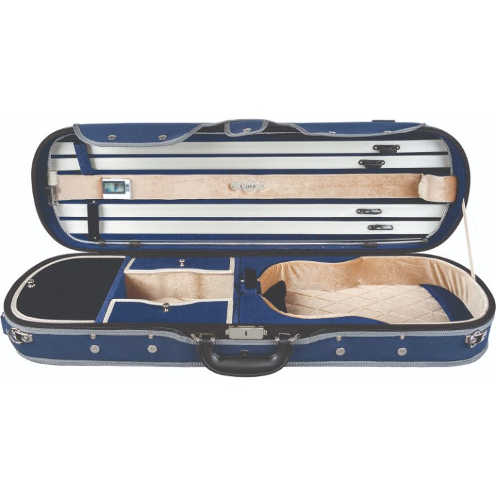 Howard Core Blue CC575 Oblong Violin Case Interior