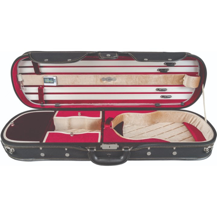 Howard Core CC575 Suspension Violin Case Red Interior