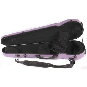 Howard Core Fiberglass Violin Case Purple
