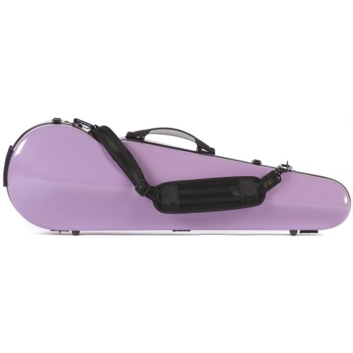 purple fiberglass violin case