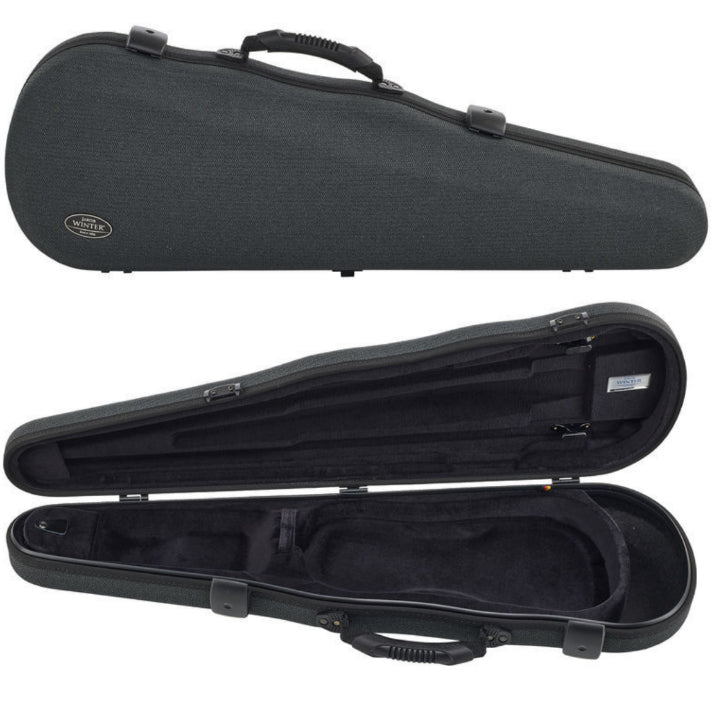 gray violin case