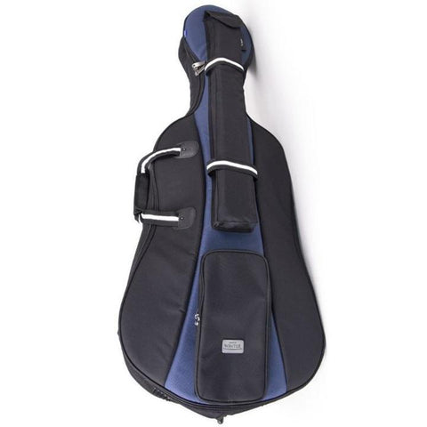 Black/ Blue Jakob Winter Soft Cello Case