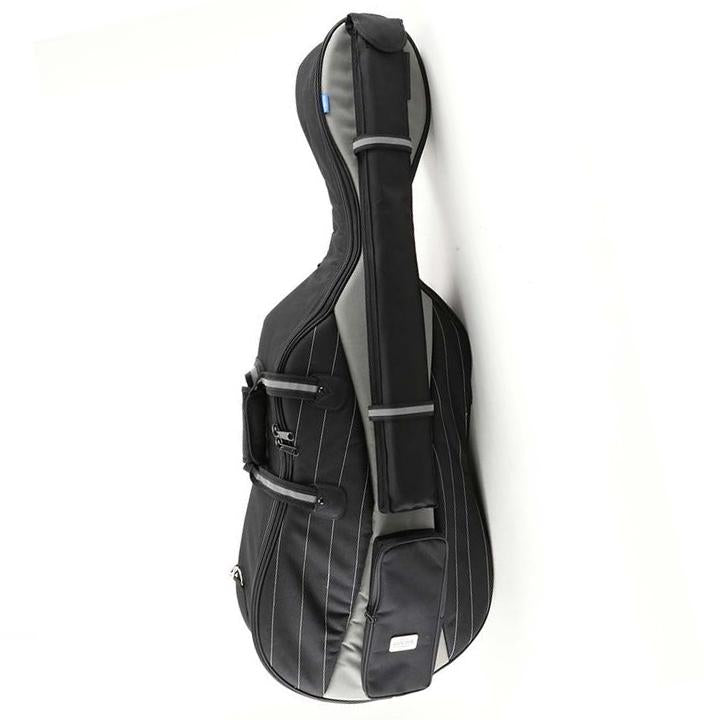 Jakob Winter Black/ Grey Soft Cello Case- Front
