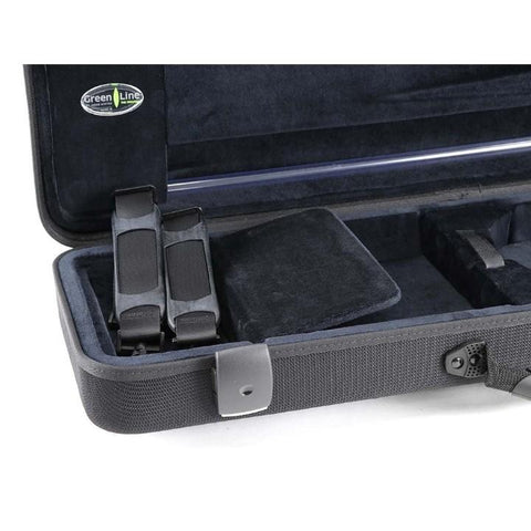 Jakob Winter Greenline Classic Violin Case Black With Pocket