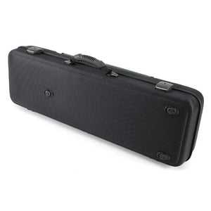 Jakob Winter Greenline Classic Black Violin Case Gray Petrol Pocket