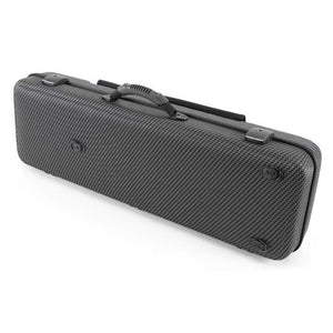 Jakob Winter Greenline Oblong Violin Case Carbon Black With Pocket