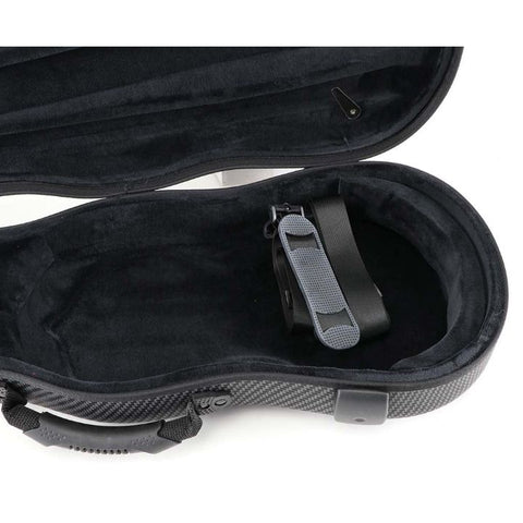 Jakob Winter Greenline Shaped Viola Case Carbon Design