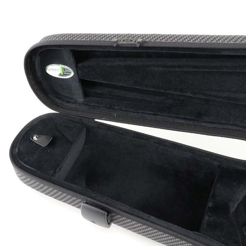 Image of Jakob Winter Greenline Shaped Viola Case Carbon Design