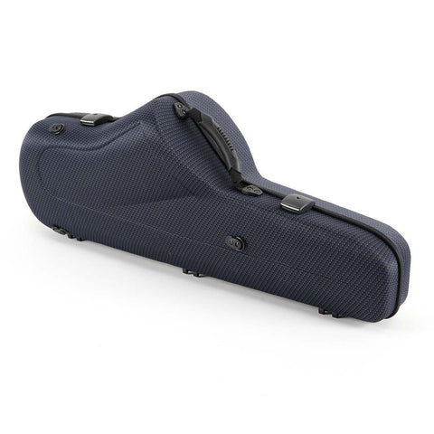 Image of Jakob Winter Carbon Blue Greenline Shaped Tenor Sax Case