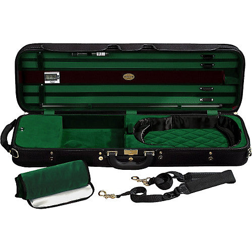 Jakob Winter Super Light Series Violin Case Green