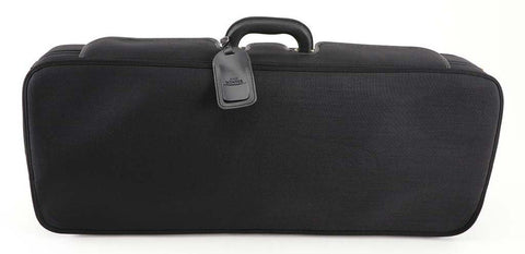 Black Double Violin Case