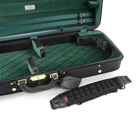 Jakob Winter Double Violin Case Green