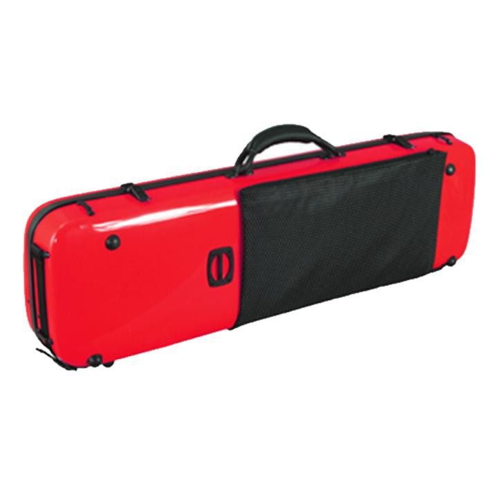 red carbon fiber violin case