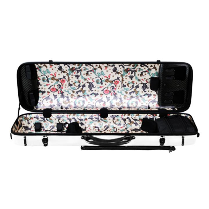 Musilia P2 Carbon Fiber Violin Case White