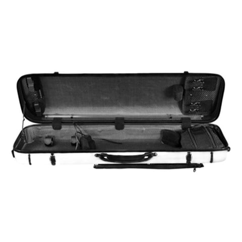 Image of Musilia P1 Carbon Fiber Hybrid Violin Case White