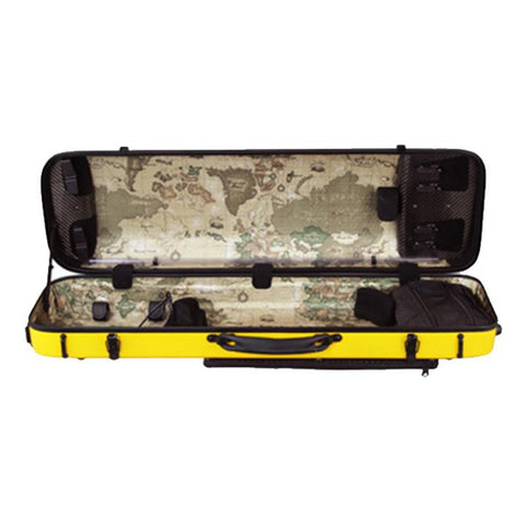 Musilia P1 Carbon Fiber Hybrid Violin Case Yellow