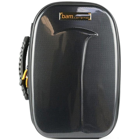 Image of Bb Clarinet case Black Carbon look