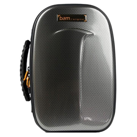 Image of Bam New Trekking Clarinet Case Silver Carbon
