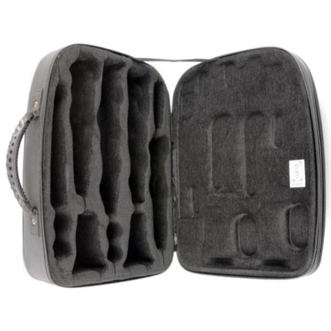 Bb/A Clarinets case Black Carbon look