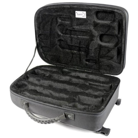 Image of New Trekking Bb/A Clarinets case Brushed Aluminium