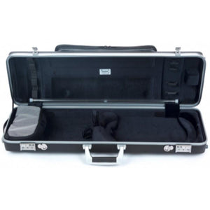 Panther Hightech Oblong Compact Viola Case with Pocket Black