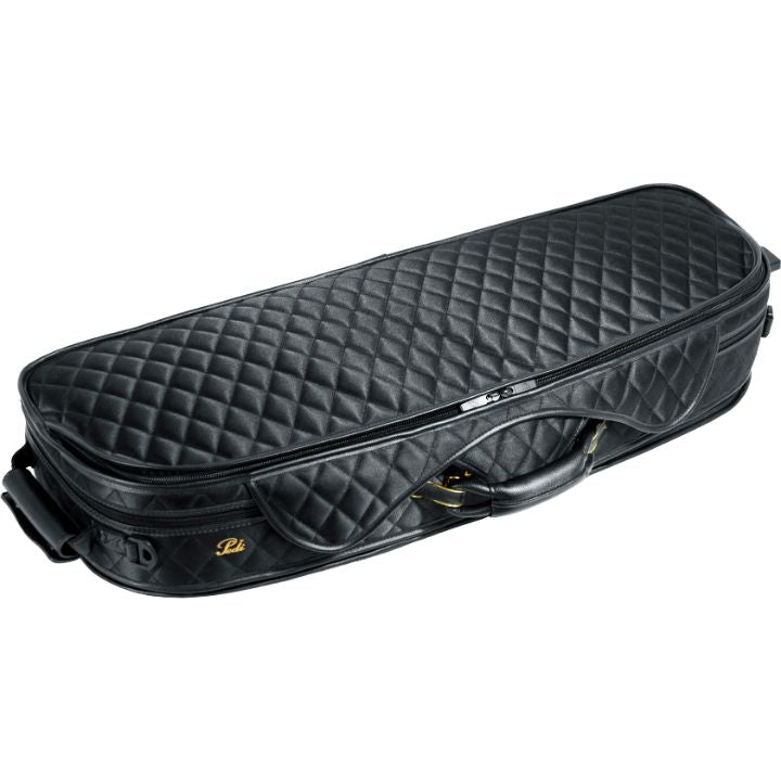 Pedi 8300 Violin Case Black - Caramel