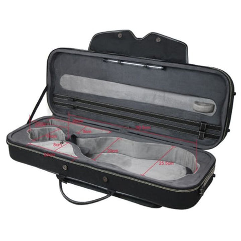 Image of Pedi NiteFlash Oblong Viola Case Black