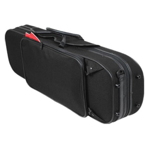 Image of Black Pedi NiteFlash Oblong Viola Case - Back