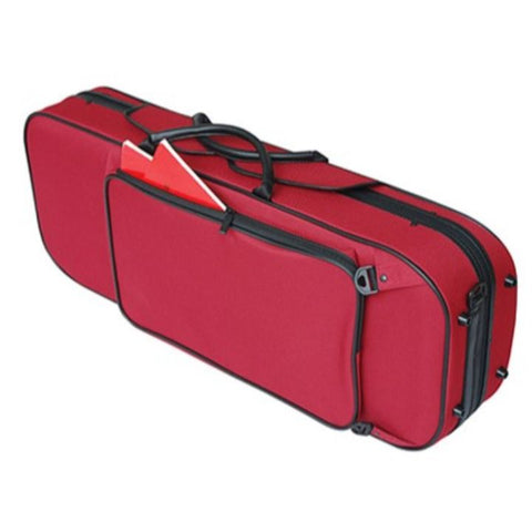Pedi NiteFlash Red Oblong Viola Case - Back