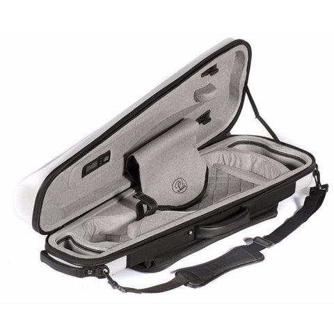Image of White arrow Violin Case