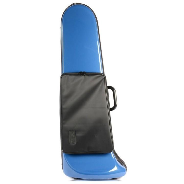 Bam Softpack Bass Trombone Case with Pocket Blue