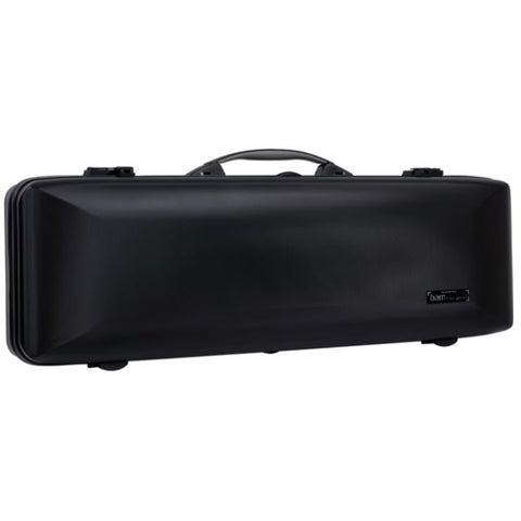 Bam Supreme Hightech Oblong Violin Case Black - Black Seal
