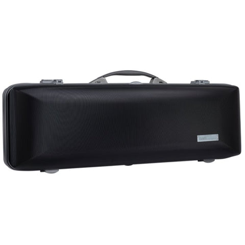 Bam Supreme Hightech Oblong Violin Case Black - Silver Seal