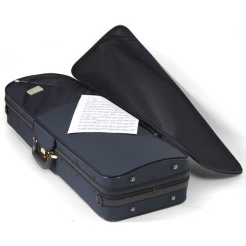 Image of Super Light Oblong Blue Viola Case - Music Pocket