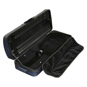 Super Light Oblong Viola Case Dark Blue