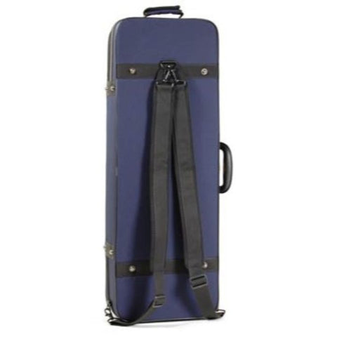 Super Light Oblong Blue Viola Case - Back