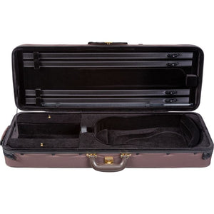 Super Light Oblong Viola Case Brown