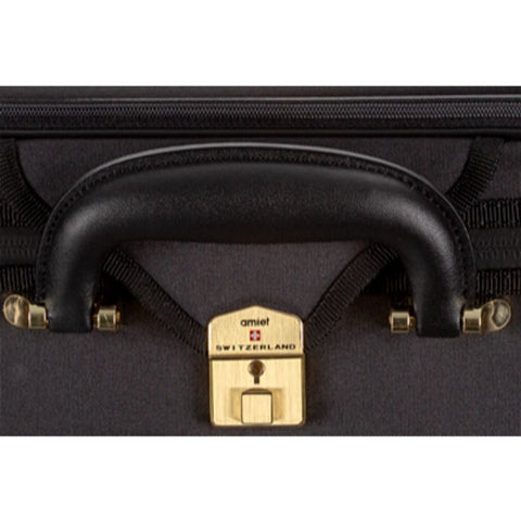 Super Light Oblong Violin Case Black