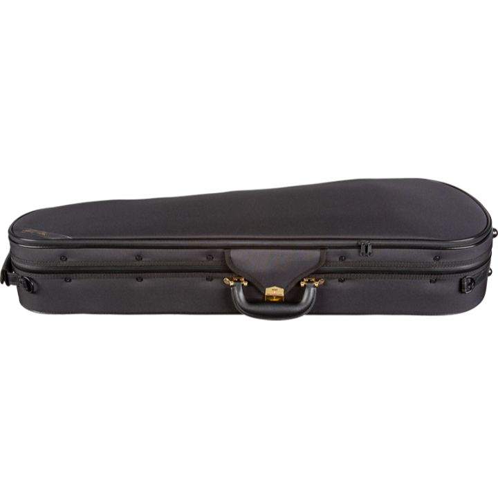 Black Superlight Shaped Viola Case - Side